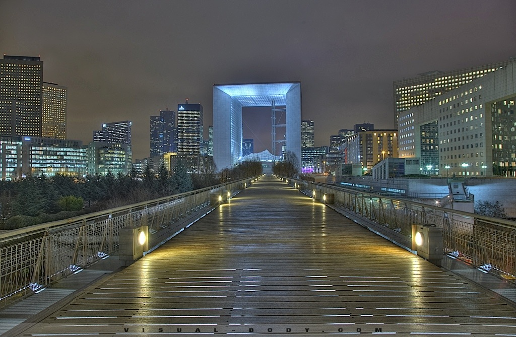 La Défense en HDR, Paris