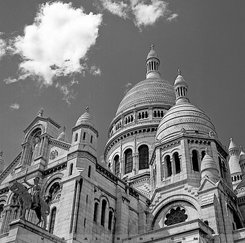 Basilique Sacre Coeur de Montmartre, Paris
