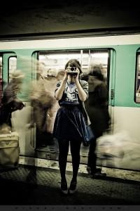 04 Le Polaroid, Bambie dans le métro