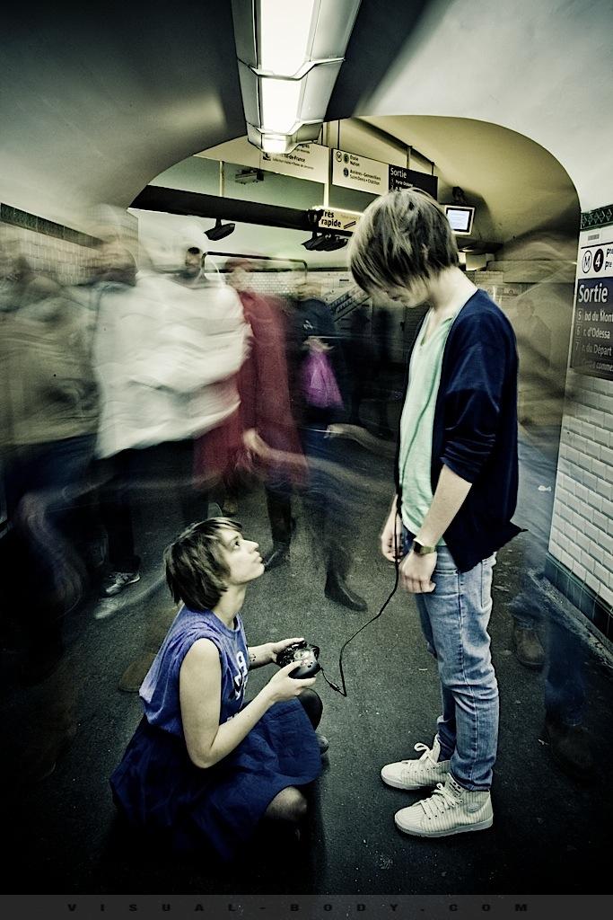 07 Le jeux video, Bambie dans le métro