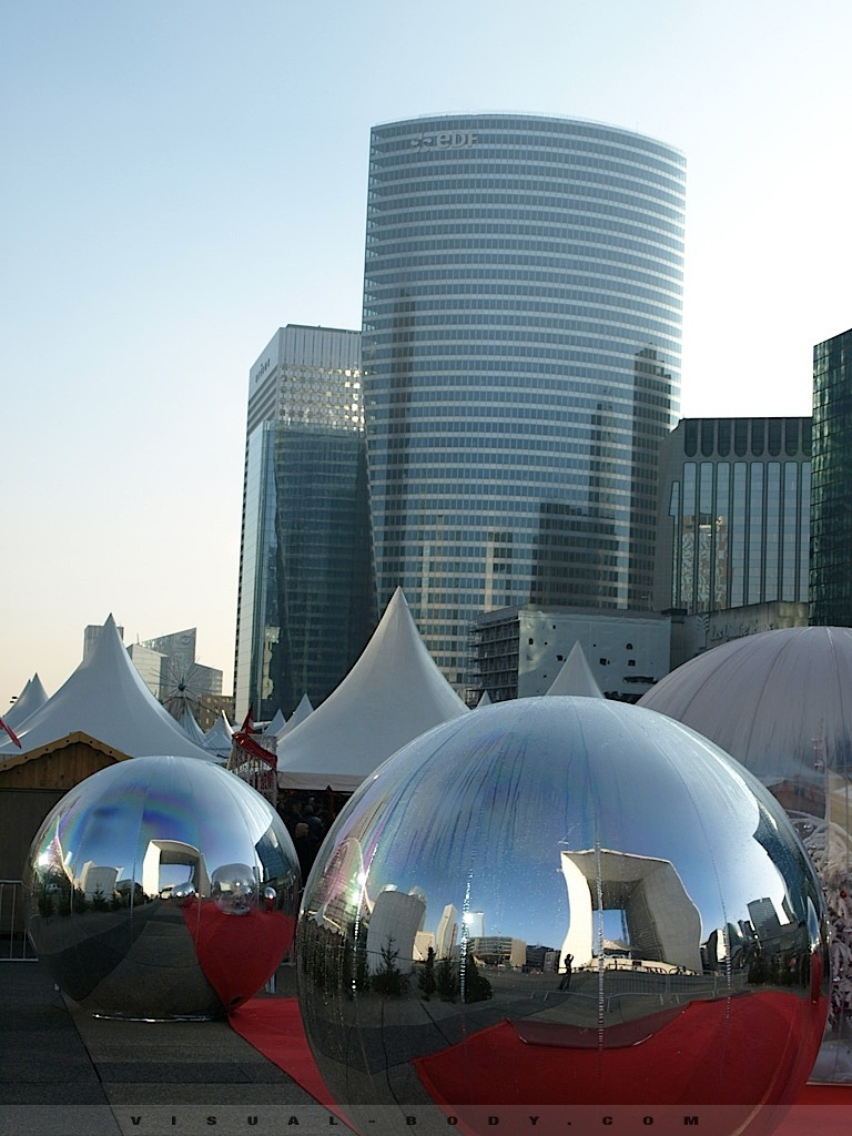 Ballons gonflables, La Défense, Paris