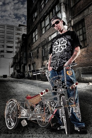 Urban Life - Genevive, Pat lowrider bike