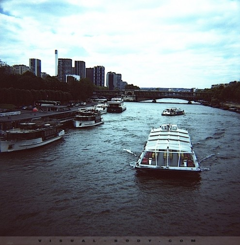 Vue sur la Seine