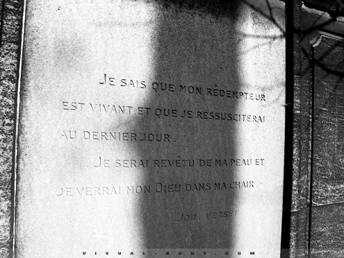 Tombe, cimetire du Pre Lachaise, Paris
