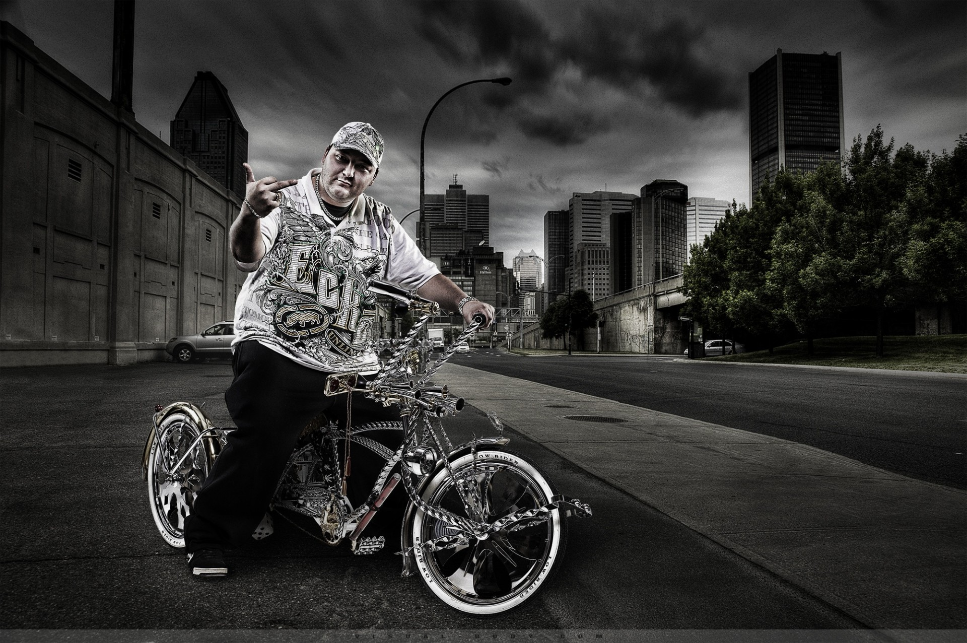 Urban Life I - Le biker