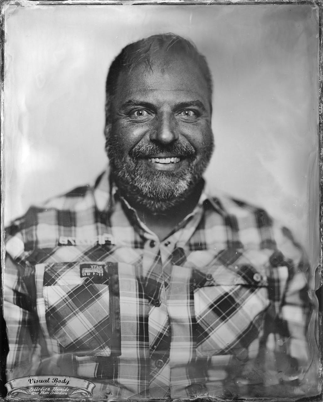 Jean-François Mercier. Profession : humoriste/comedian.