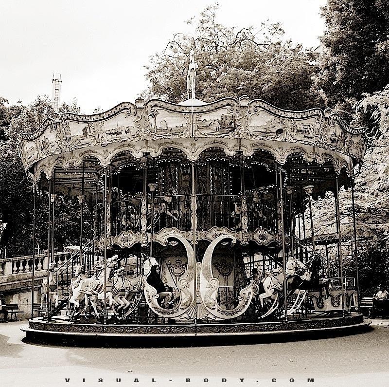 Vieux Manège à Montmartre, Paris