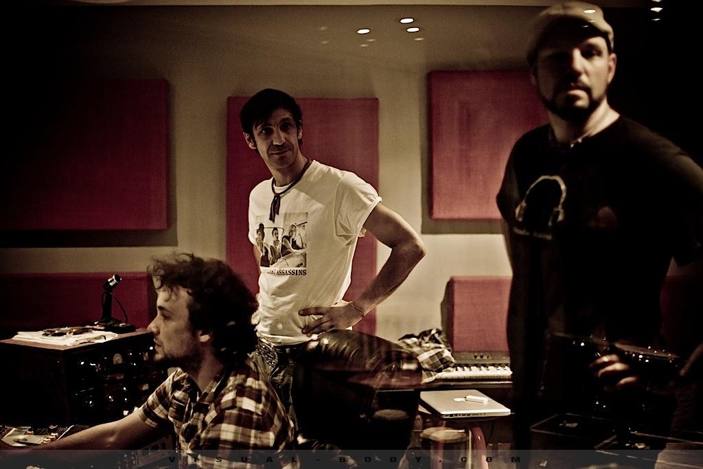 Bran Van 3000 en studio 18