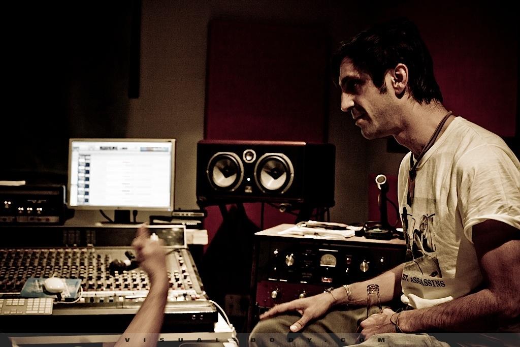 Bran Van 3000 en studio 3