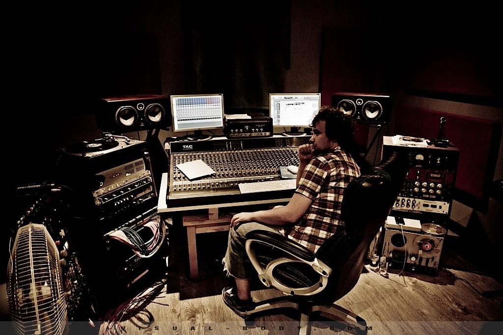 Bran Van 3000 en studio 7