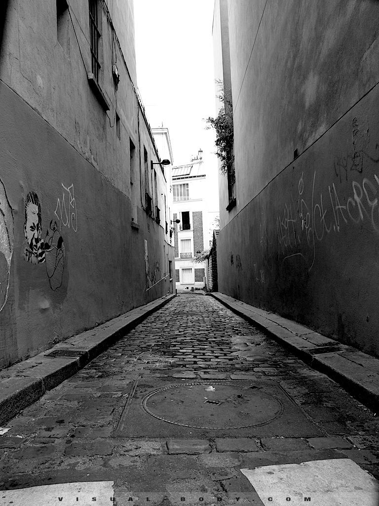 Ruelle à Montmartre, Paris