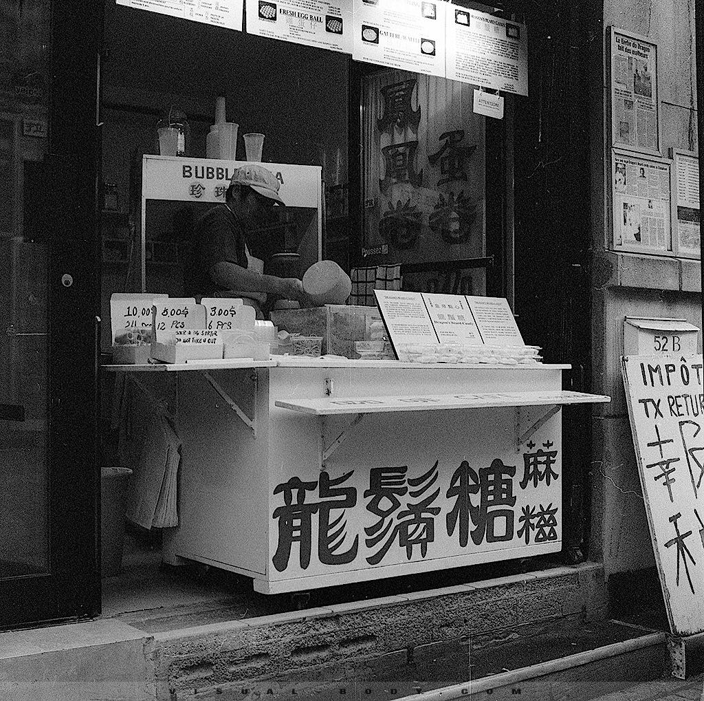 Vendeur chinois