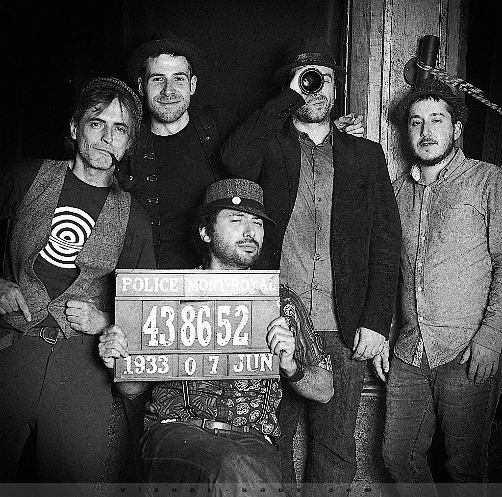 PhotoBooth réalisé lors de l'événement Speakeasy Electro Swing Montréal, 2e anniversaire avec un Hasselblad 500 C/M.