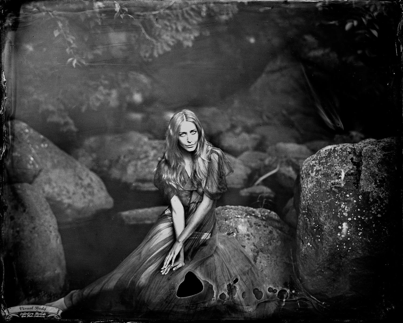Liza-Marie à la rivière du Nord, Ste-Adèle.